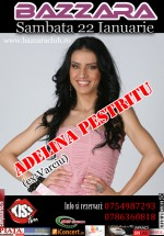 Adelina Pestritu la Bazzara Club din Arad