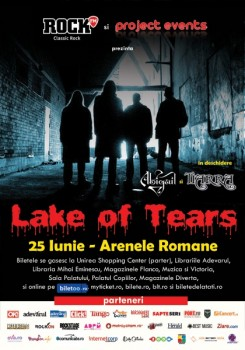 Concert Lake Of Tears la Bucureşti