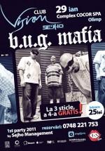 Concert B.U.G. Mafia în Club Vision din Neptun