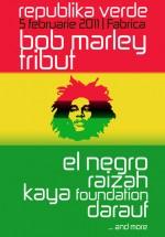 Bob Marley Tribut în Club Fabrica din Bucureşti