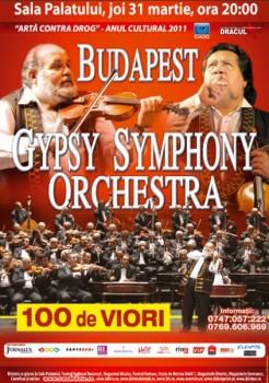 Budapest Gypsy Symphony Orchestra la Sala Palatului din Bucureşti
