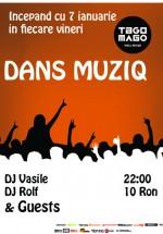 Dans Musiq la Club Tago Mago din Bucureşti
