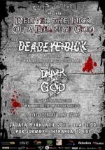 Concert Deadeye Dick şi Deliver The God la Pub Subway din Bacău