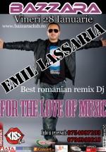 Emil Lassaria la Bazzara Club din Arad
