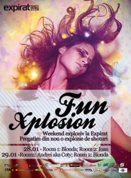 Fun Xplosion în Club Expirat din Bucureşti