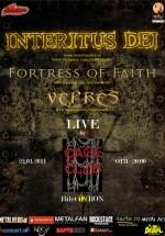 Concert Interitus Dei, Fortress of Faith şi Vepres la Cage Club din Bucureşti