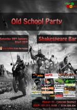Old School Party la Shakespeare Bar din Bucureşti