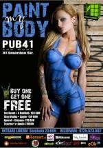Paint my body în Pub 41 din Bucureşti