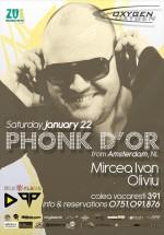 Phonk D'or la Club Oxygen din Bucureşti