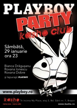 Playboy Party la Kasho Club din Braşov