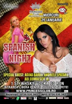 Spanish Night la Princess Club din Bucureşti