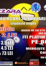 Student Night la Bazzara Club din Arad
