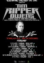 Concert Tim Ripper Owens la Club Thunder Rock din Odorheiu-Secuiesc