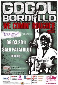 Concert Gogol Bordello la Sala Palatului din Bucureşti