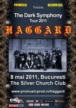 Concert Haggard în The Silver Church din Bucureşti