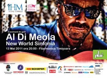 Concert Al Di Meola la Timişoara