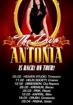 Turneu Antonia în România