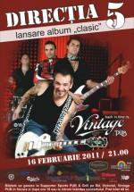 Concert Directia 5 în Vintage Pub din Sibiu