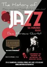 Concert Elena Morosanu Qvartet în La Historia din Bucureşti