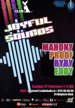 Joyful Sounds în Club Shade din Bucureşti