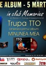Lansare album TTO în Club Memories din Bucureşti