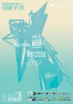 DJ Mara şi Narcissa în Club Oxygen din Bucureşti