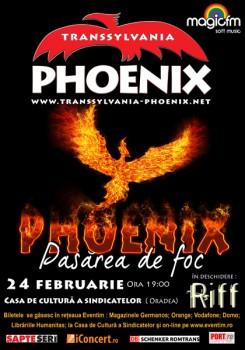 Concert Phoenix, Pasărea de foc la Oradea