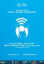 Lansare album Raku în The Silver Church din Bucureşti