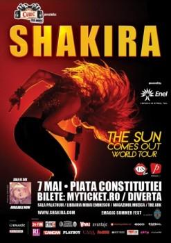 Concert Shakira la Bucureşti