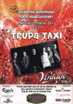 Concert Taxi în Vintage Pub din Sibiu