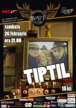 Concert TiPtiL în Club Watt din Bucureşti