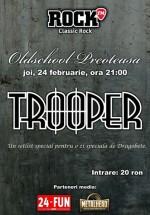Concert Trooper în Club Old School din Bucureşti
