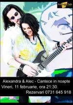 Concert Alexandra & Alec în Art Jazz Club din Bucureşti