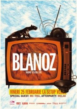 Concert Blanoz în Setup Venue din Timişoara
