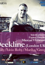 DJ Deekline la Selectro în Club Expirat şi Club Other Side din Bucureşti