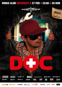 Concert DOC în Wings Club din Bucureşti