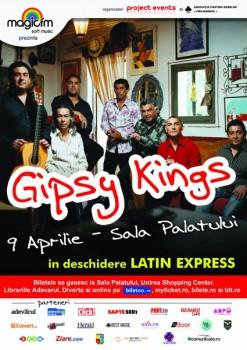Concert Gipsy Kings la Bucureşti