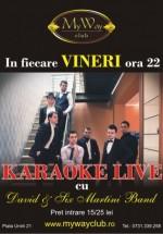 Karaoke live în My Way Club din Cluj-Napoca