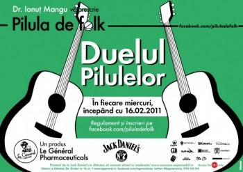 Pilula de Folk – Duelul Pilulelor în Le General din Cluj-Napoca