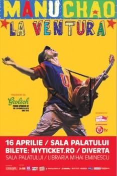Concert Manu Chao la Bucureşti