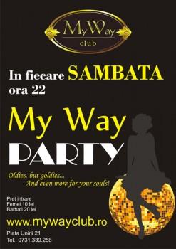 My Way Party în My Way Club din Cluj-Napoca