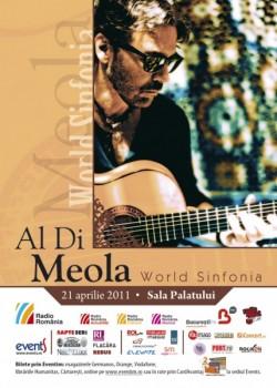 Concert Al Di Meola & New World Sinfonia la Sala Palatului din Bucureşti