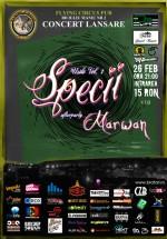 Concert lansare album Specii în Flying Circus Pub din Cluj-Napoca