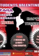 Students Valentine's în Bazzara Club din Arad