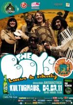 Concert lansare videoclip Les Elephants Bizarres în Kulturhaus din Bucureşti