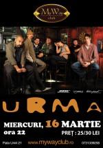 Concert Urma în My Way Club din Cluj-Napoca