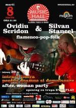 Ovidiu Scridon şi Silvian Stăncel în Music Hall din Bucureşti