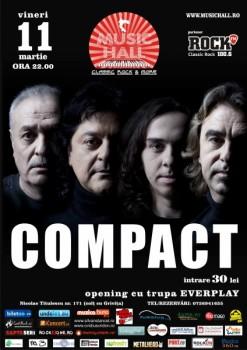 Concert Compact în Music Hall din Bucureşti