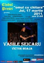 Concert Vasile Şeicaru în Clubul Presei din Iaşi