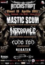 Concert Mastic Scum şi Necrovile în Rockstadt Club din Braşov